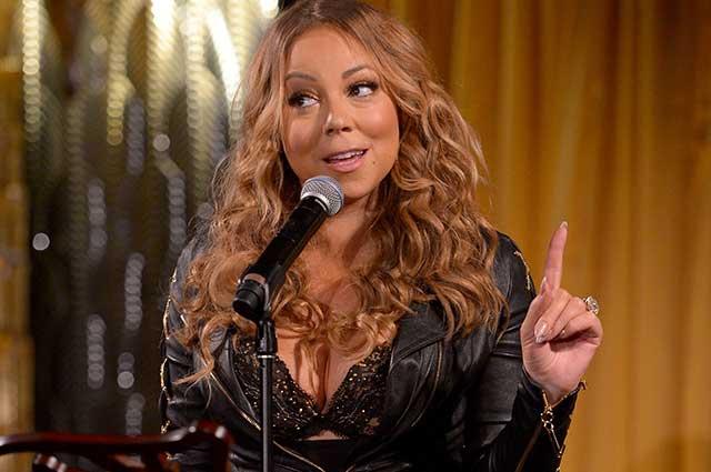 Mariah cuida al desnudo