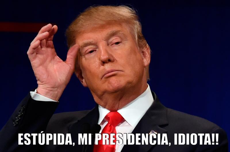 Resultado de imagen para memes de Trump