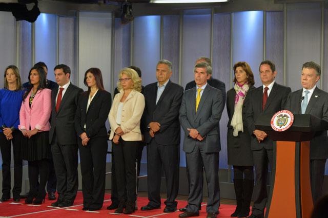 Estos son los nuevos ministros del gobierno santos for Ministros del gobierno