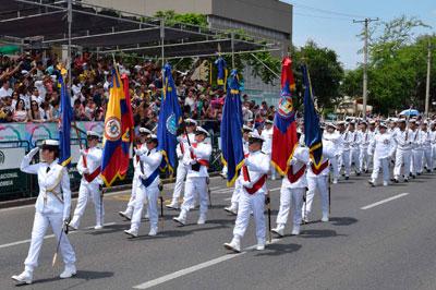 Listo desfile del 20 de julio en Valledupar
