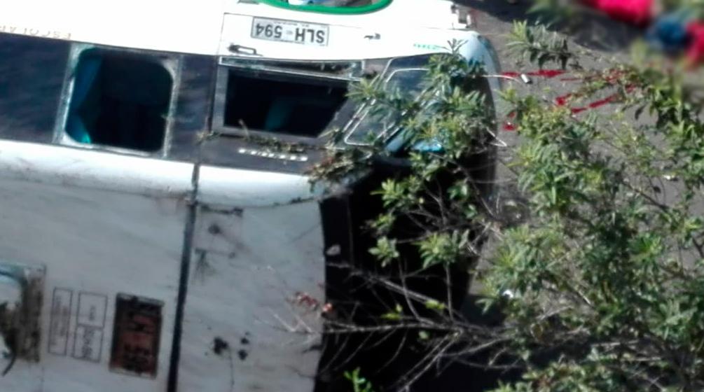 Accidente de bus en Colombia deja nueve muertos y 23 heridos