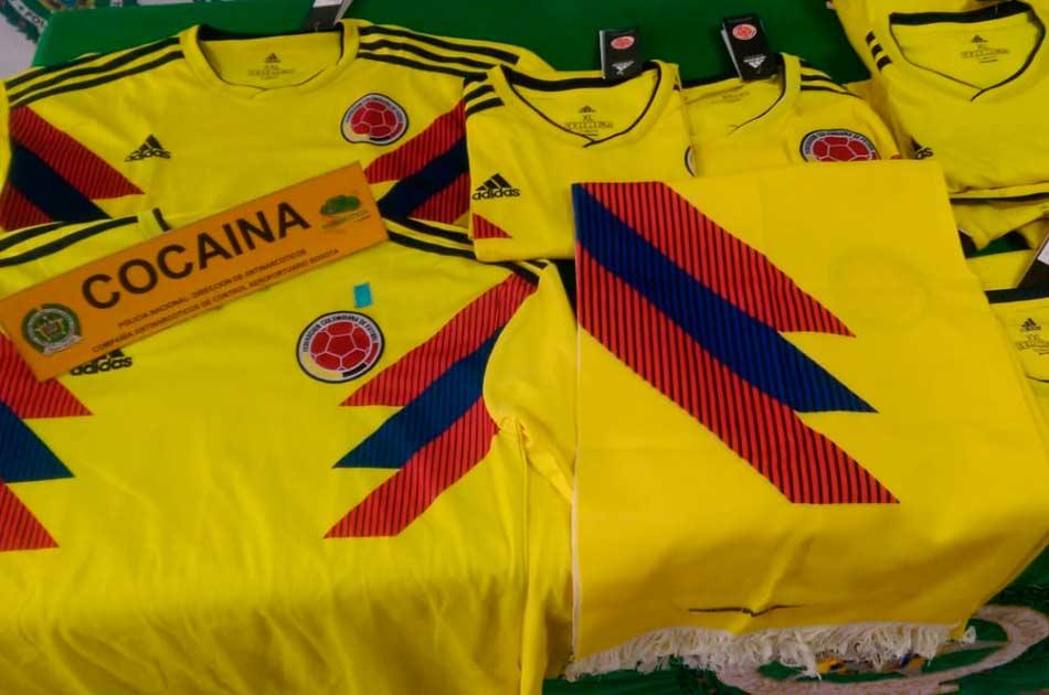 Resultado de imagen para camisetas colombia cocaina