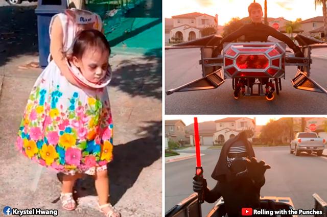 Disfraz De Nina Sin Cabeza En Filipinas Es Ovacionado En Halloween - Disfraces-sin-cabeza