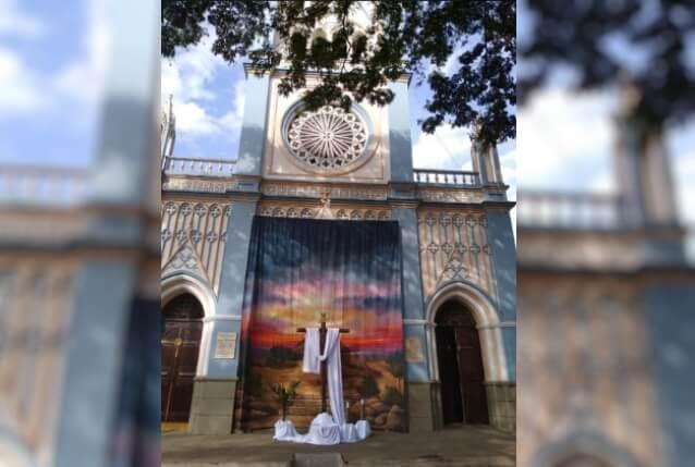 Controversia en Andes, Antioquia, entre policías y sacerdote por celebración de la Santa Cruz- Noticias Caracol