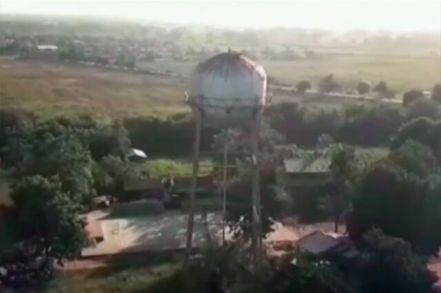 Tanque viejo pone en riesgo a estudiantes de San Bernardo del Viento - Noticias Caracol