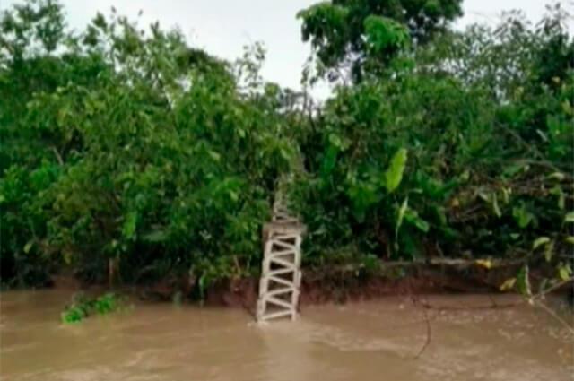 Cayó torre de energía en Puerto Leguízamo, Putumayo - Noticias Caracol