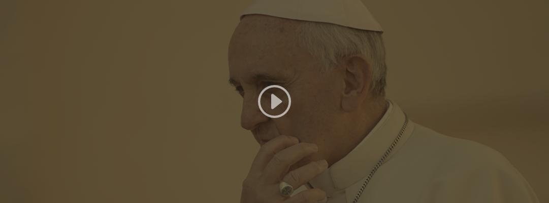 El papa Francisco, con ojos de niño