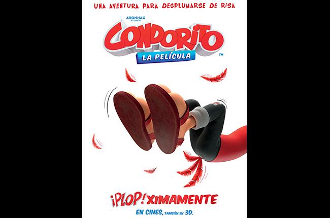 Pequeño adelanto y poster de Condorito la película